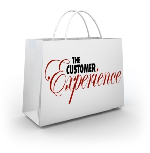 Customer Experience Shopping Bag Words Buyer Shopper Client Sati